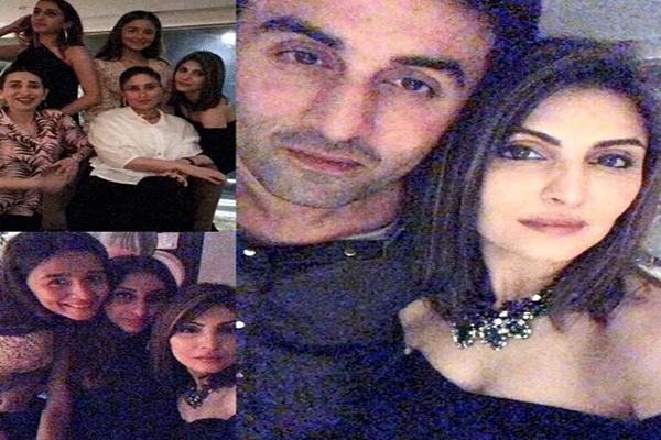 Ranbir, Alia, Kareena, Saif, Neetu Kapoor at Riddhima birthday bash - Bollywood News in Hindi