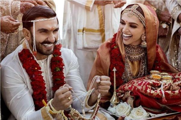 Ranveer Singh - Deepika Padukone Tie the Knot in Lake Como, Italy - Bollywood News in Hindi