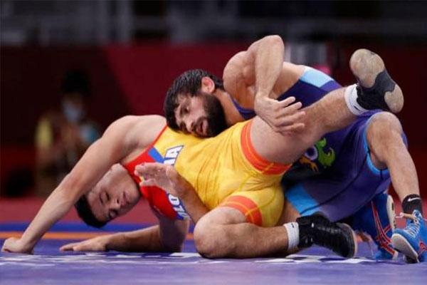 टोक्यो ओलंपिक में भारत का चौथा पदक पक्का, रवि दहिया ने कजाकिस्तान के पहलवान को हराया