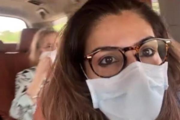 Raveena Tandon is off to a road trip - Bollywood News in Hindi