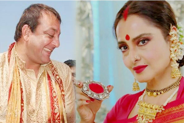 Is Rekha married to Sanjay Dutt Her biographer denies rumours - Bollywood News in Hindi