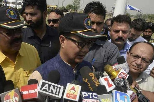 India-Pakistan will overcome the decline in trade between the two countries - Rijiju - Amritsar News in Hindi