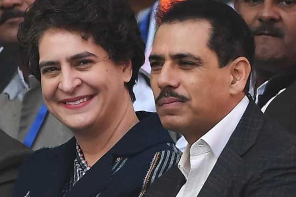 Always by your side : Robert Vadra congratulates wife Priyanka Gandhi Vadra - India News in Hindi