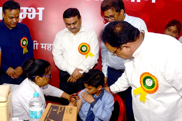 Vaccination of 2 crore 26 lakh children in the state - Jaipur News in Hindi