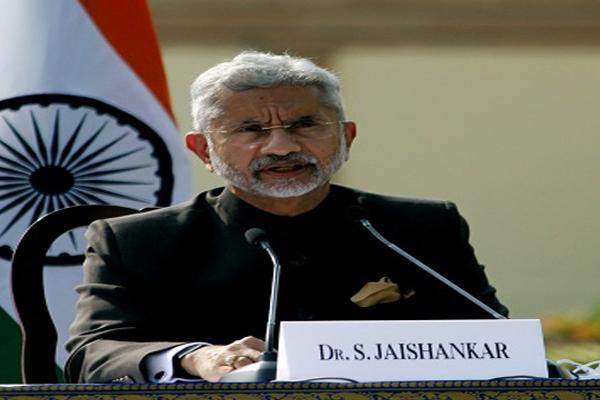 Talks will continue with China over Ladakh: Jaishankar - India News in Hindi