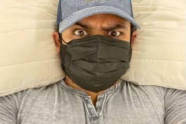 Sai Dharam Tej: Mask on - Bollywood News in Hindi