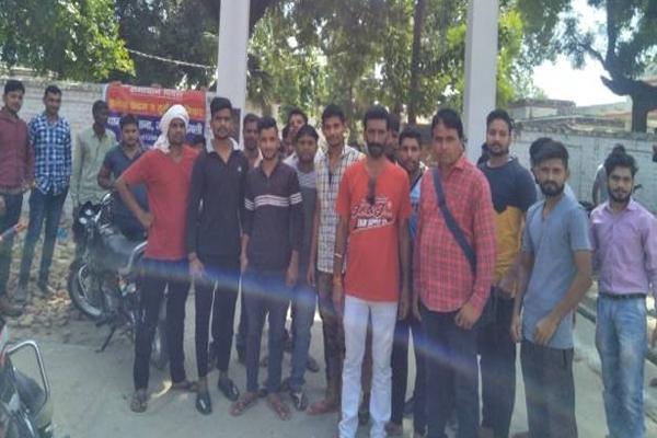 Tension in Shamli district after monkey shot dead - Shamli News in Hindi