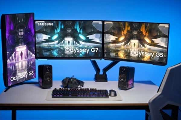 Samsung unveils upgraded Odyssey gaming monitors. - Gadgets News in Hindi