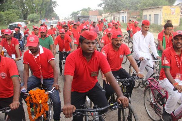यूपी विधानसभा चुनाव: सपा साइकिल यात्रा निकालकर दिखाएगी ताकत