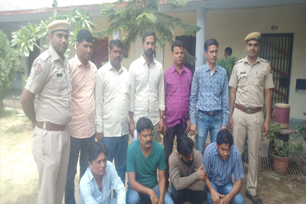 4 people arrested for betting on IPL match - Jaipur News in Hindi