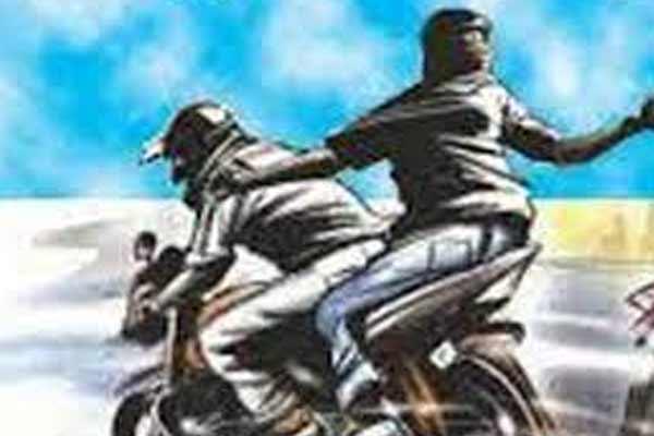 जयपुर में स्कूटी सवार ने तोड़ी बुजुर्ग के गले से चेन, पता पूछने के बहाने था रोका