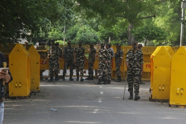 Bharat Bandh: Security beefed up in Delhi - Delhi News in Hindi