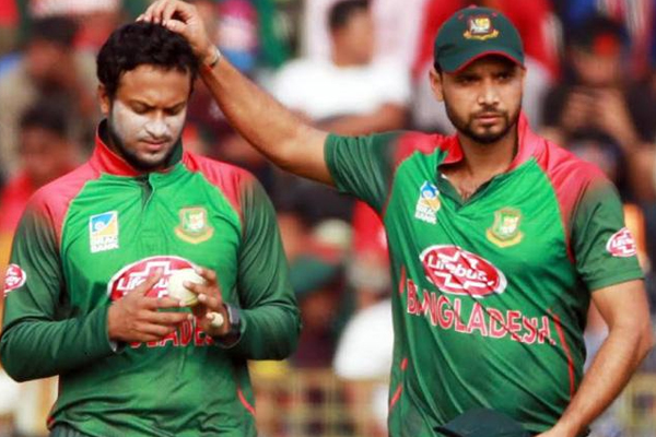 Mashrafe Mortaza apologize to Shakib Al Hasan - Cricket News in Hindi