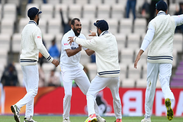 WTC Finals: Early setbacks to India, 2/64 till stumps (Roundup) - Cricket News in Hindi