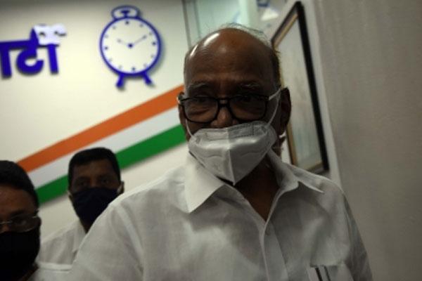 Central probe agencies misused by BJP to target political rivals: Sharad Pawar - Mumbai News in Hindi