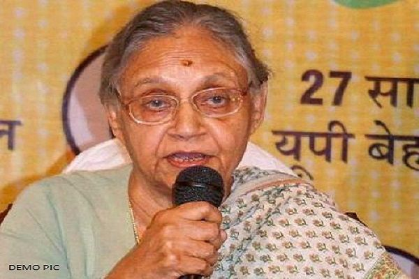 Sheila Dikshit to step down as UP CM candidate - Lucknow News in Hindi