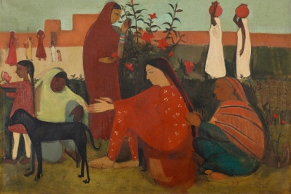 Amrita Shergill painting made a world record in the world of artists, painting sold for Rs 37.8 crore - Weird Stories in Hindi