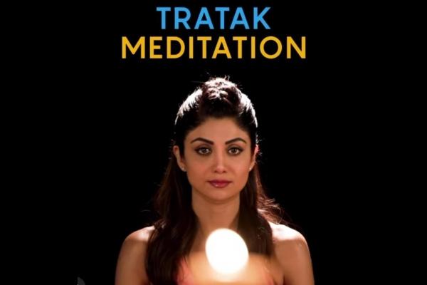 Shilpa Shetty suggests Tratak meditation to calm mind, reduce stress - Health Tips in Hindi