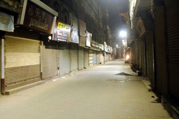 As COVID situation worsens, J&K imposes night curfew in 8 districts - Jammu News in Hindi