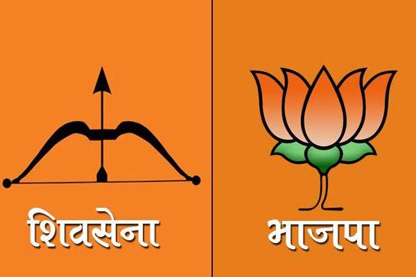 BMC election result: BJP and Shivsena may fight for Mayor seat - Mumbai News in Hindi
