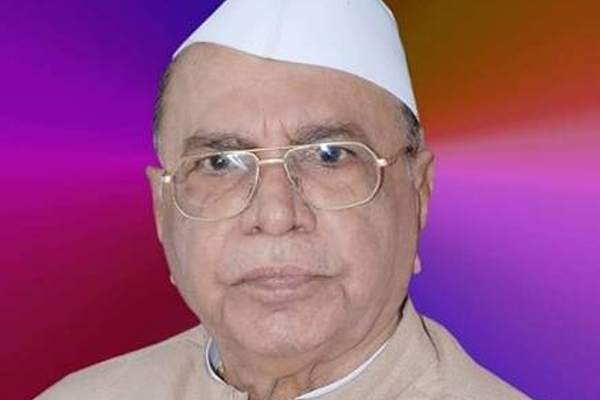 Ex-Maha CM Shivajirao Patil-Nilangekar dies at 90 - Pune News in Hindi