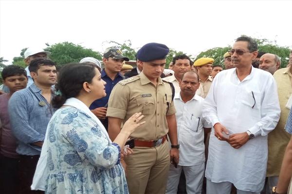 Minister in charge Vishvendra Singh reached Dholpur - Jaipur News in Hindi