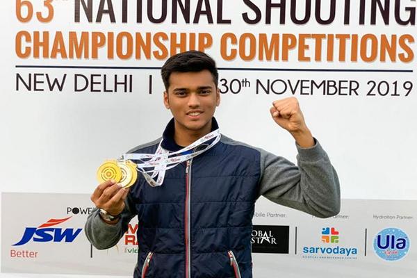 Manavaditya Singh Rathore Wins Junior National Championship - Jaipur News in Hindi