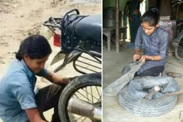 How 2 teenagers are breaking stereotypes on Bihar highway - Patna News in Hindi