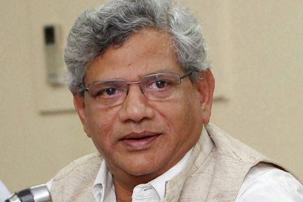 Sitaram Yechury re elected as CPM general secretary - Bapatla News in Hindi