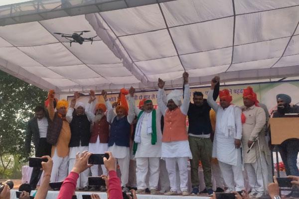 SKM threatens to burn effigies of Modi, Ajay Misra on Dussehra - India News in Hindi