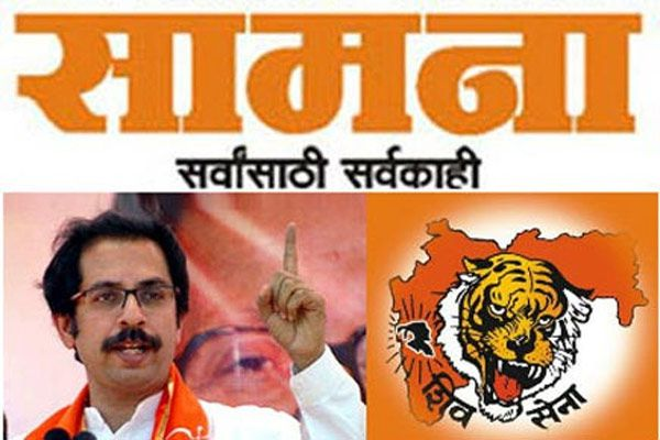bjp attcked on shivsena through samna - Mumbai News in Hindi