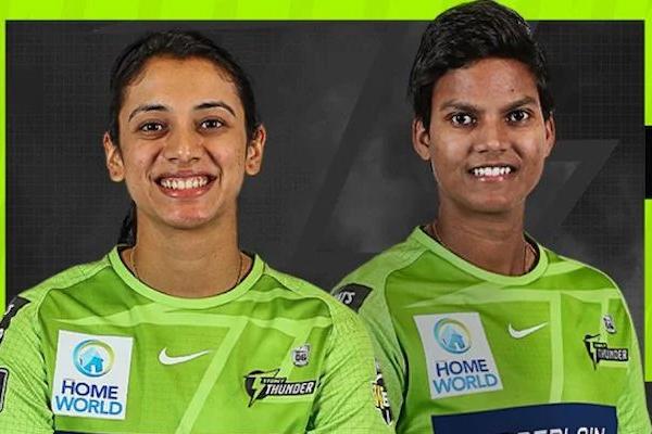 Mandhana, Deepti signed up by WBBL champions Sydney Thunder - Cricket News in Hindi