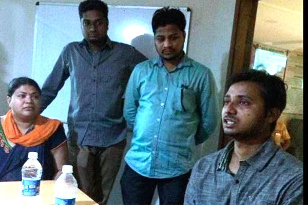 Abducted software engineer rescued from Ghaziabad - Ghaziabad News in Hindi