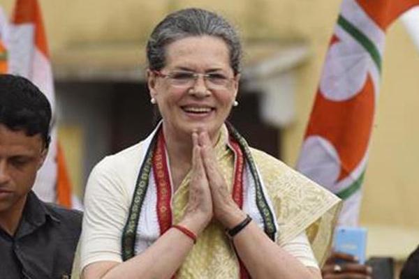 Sonia Gandhi wins more than one lakh votes from Rae Bareli - Rae-Bareli News in Hindi