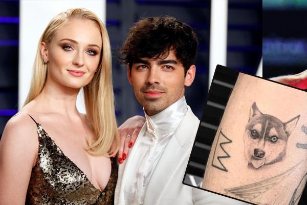 Sophie-Joe ink matching tattoos in memory of Waldo - Hollywood News in Hindi