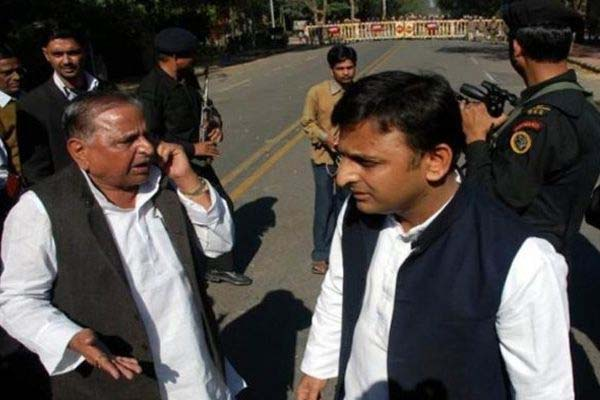 National Conference of SP in Agra Mulayam and Akhilesh will be together - Agra News in Hindi
