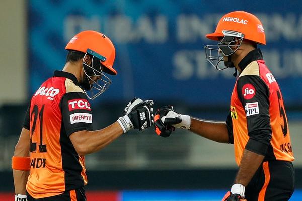 Pandey, Shankar lead SRH to 8-wkt win over RR - Cricket News in Hindi