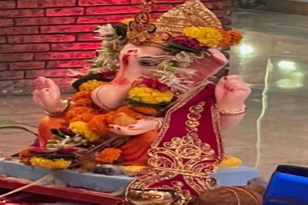 शाहरुख ने दी 'गणपति बप्पा' को विदाई