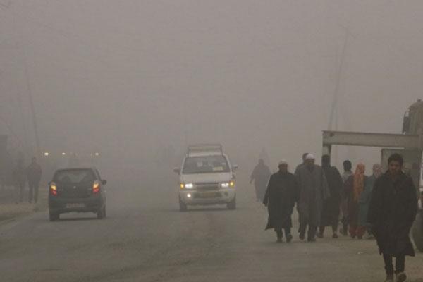 Mercury rises in Jammu and Kashmir and Ladakh, but fog in Jammu - Srinagar News in Hindi