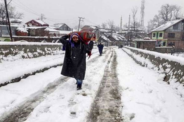 Minimum temperatures improve across J&K, Ladakh - Srinagar News in Hindi