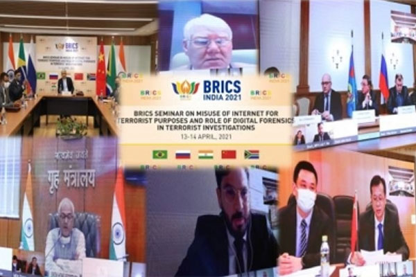 एनआईए ने आतंकवादियों द्वारा इंटरनेट के दुरुपयोग पर ब्रिक्स सेमिनार आयोजित किया