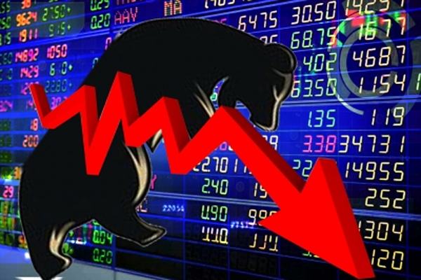 The stock market broke due to Corona havoc, Sensex plunges 500 points - Mumbai News in Hindi
