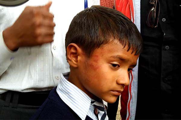 teacher beat student in badaun - Budaun News in Hindi
