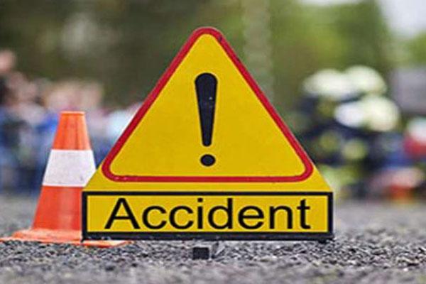 सड़क दुर्घटना में यूपी पीएसी के दो कर्मियों की मौत