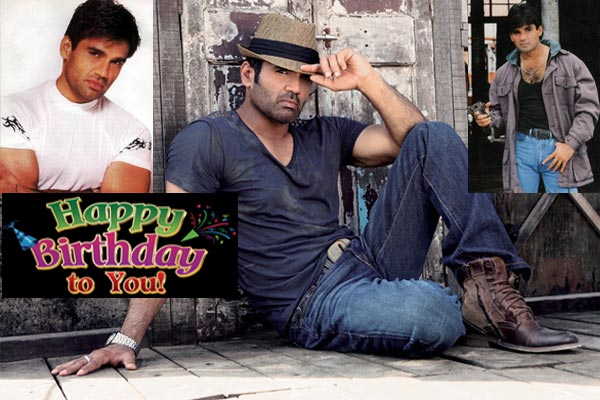 Happy birthday Sunil shetty - Bollywood News in Hindi