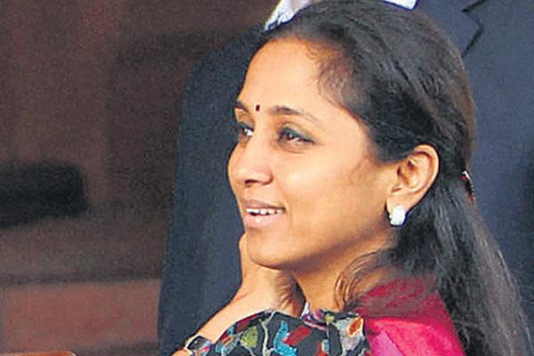 PM Modi offered Supriya Sule Cabinet berth, claims Saamna quoting Pawar - India News in Hindi