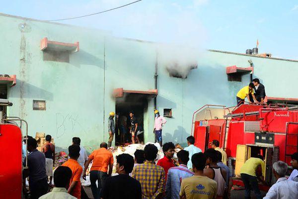Surajpole Anjamandi Garbage Warehouse Warehouse - Jaipur News in Hindi