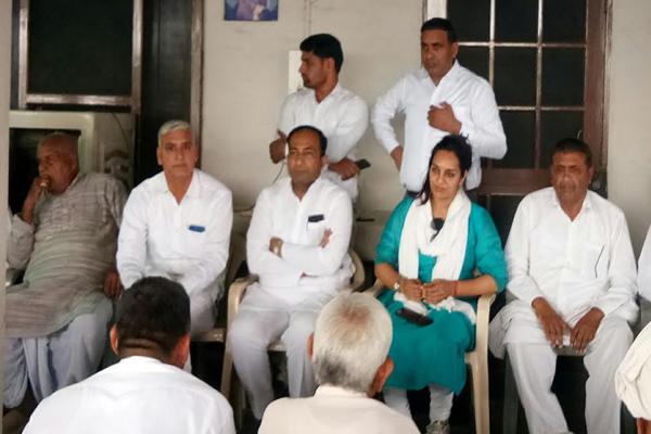 Make Randeep himself victorious by convincing Congress candidate: Sudeep Surjewala - Kaithal News in Hindi