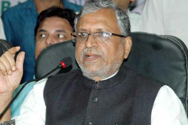 dalits issue: Sushil Modi attack on Rashtriya Janata Dal - Patna News in Hindi