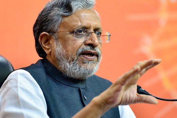 Whether Lalu stays in jail or out, his election brand value is zero: Sushil Modi - Patna News in Hindi